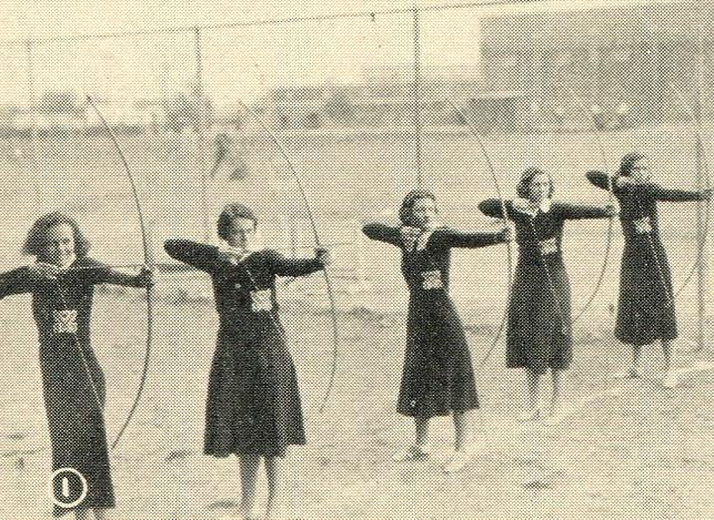 Archery on the field