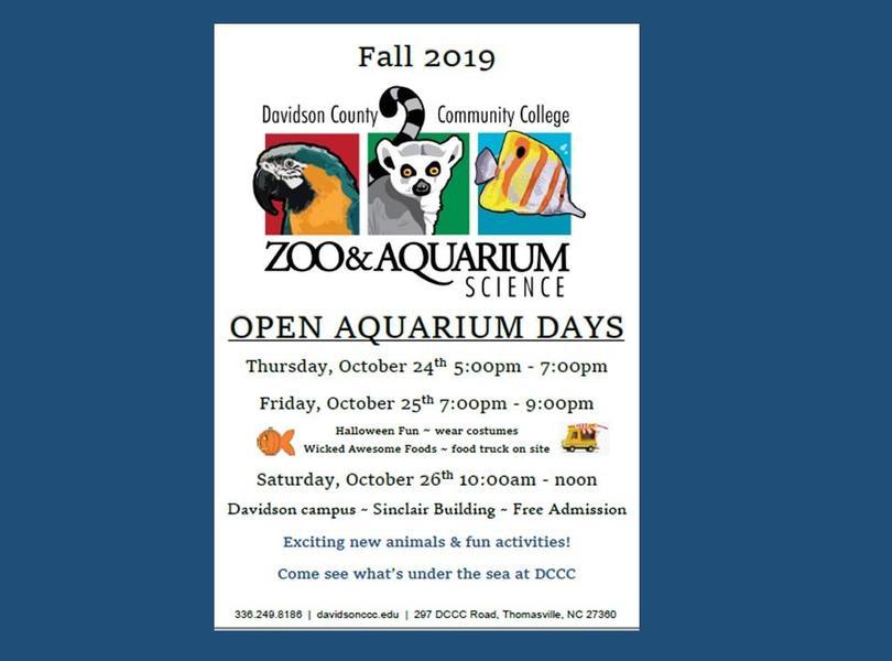 Aquarium Day at DCCC