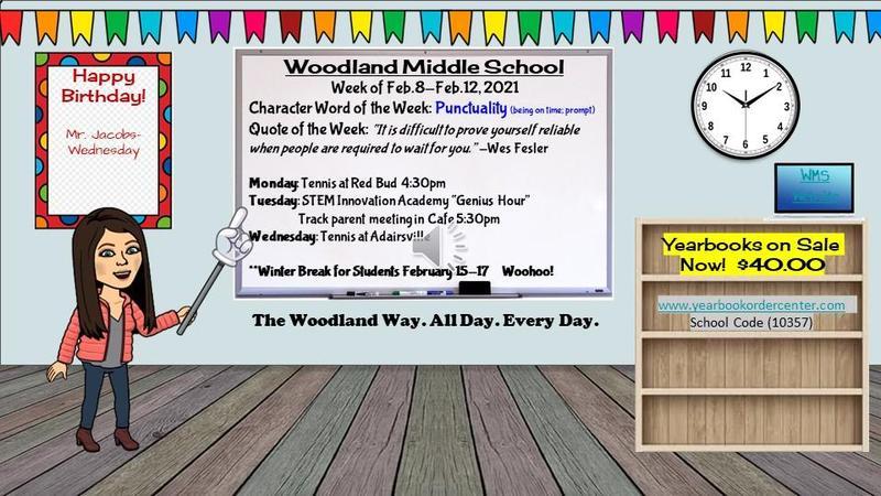School Announcements Feb. 8-Feb. 12 Featured Photo