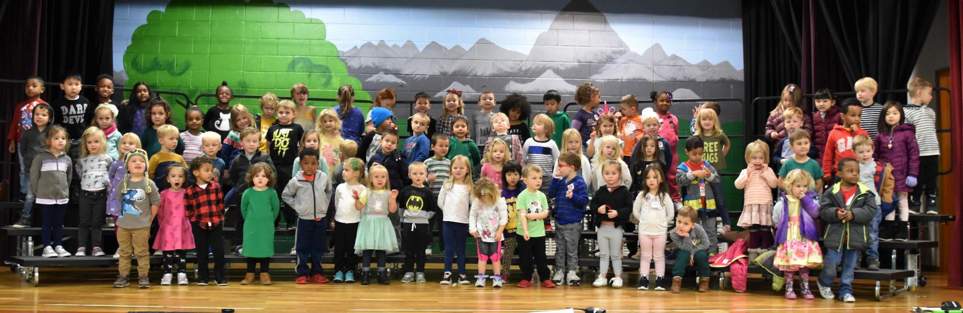 Preschoolers (nearly all of them) 2019 Christmas