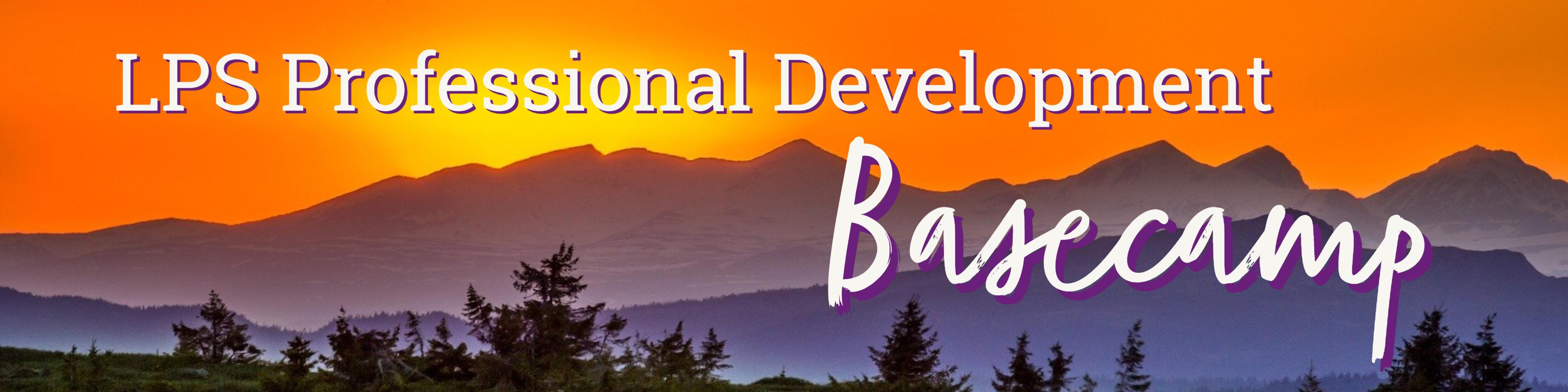 Professional Development Basecamp Header