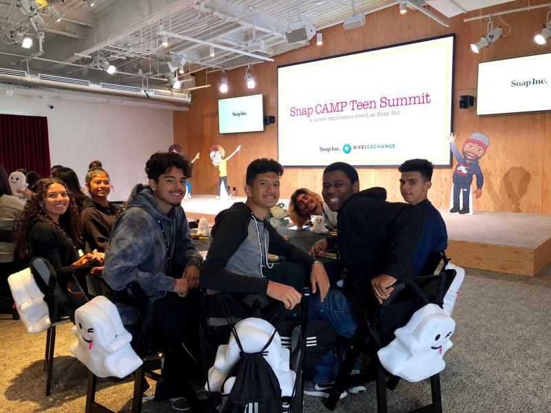 Digital Design Students Go to Snap CAMP Teen Summit Featured Photo