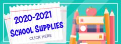 2020-2021 school supplies, click here