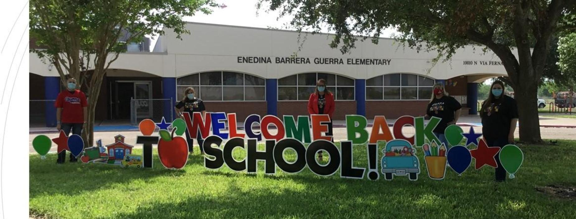 Guerra Admin welcome teachers back!