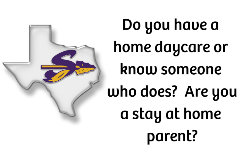 Do you have a home daycare or know someone who does?  Are you a stay at home parent?