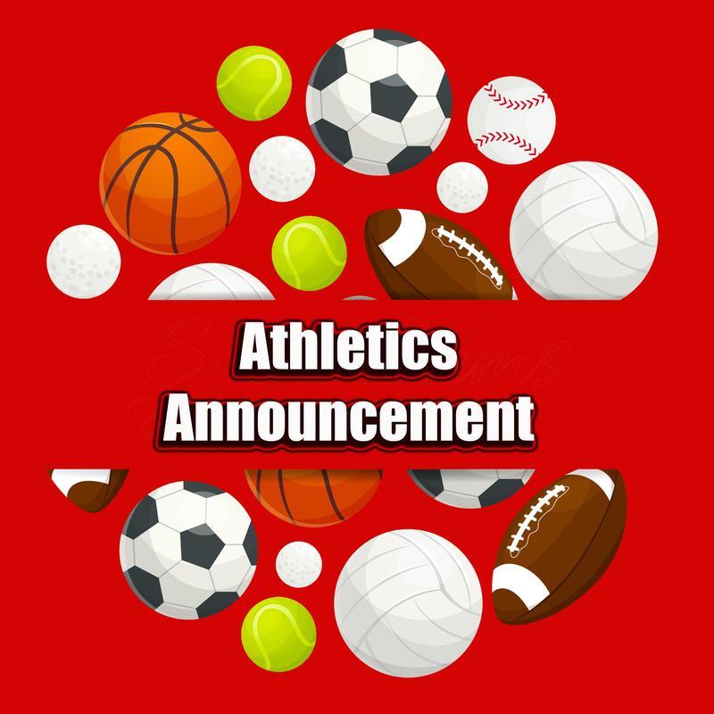 Athletics Announcement Logo