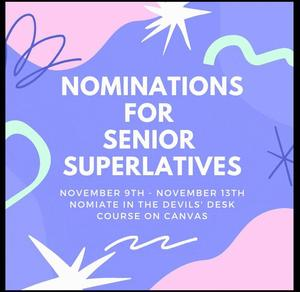 nominations for Seniors