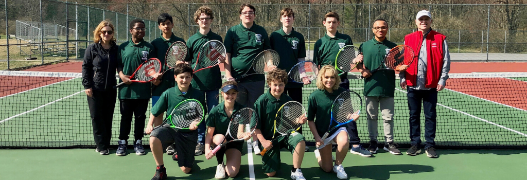 DVFriends Varsity Tennis Team 2019