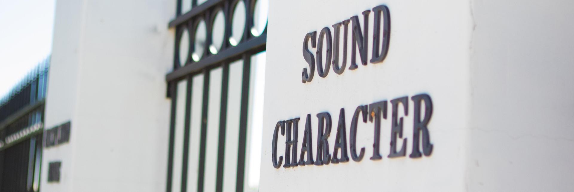 Sound Character Pillar