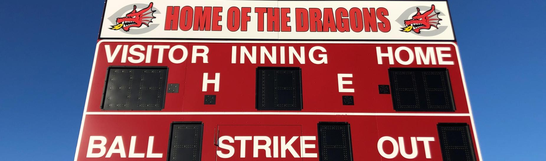 New Baseball Scoreboard