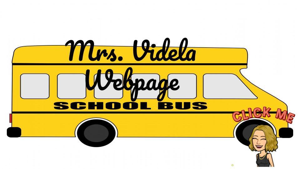 MRS. VIDELA WEBPAGE