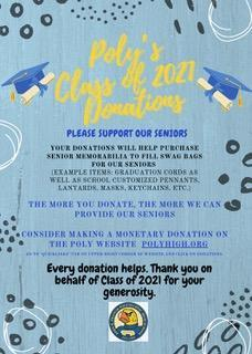 Class of 2021 Needs Your Support! Featured Photo