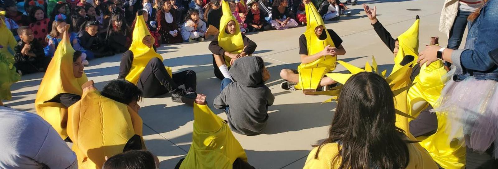 K-8 Halloween Parade at San Jose - Our Halloween Parade was BANANAS, no but really, we had several of them in our parade! Thank you to all the students and staff who participated.  #proud2bepusd http://edl.io/n1118888