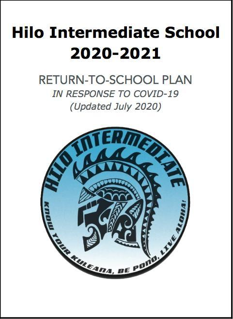 Hilo Intermediate School Return to School Plan SY 2020-2021 Featured Photo