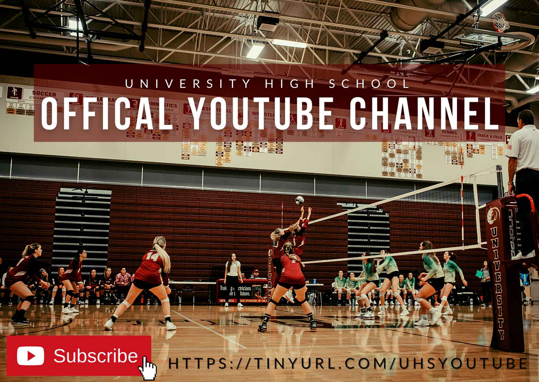 Official UHS YouTube Channel advertisement