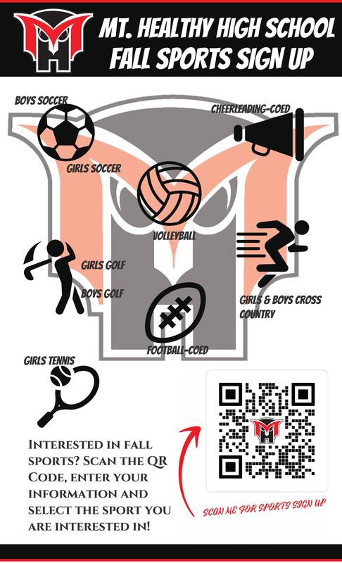 hS fall sports flyer