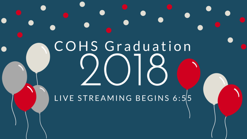 View COHS Class of 2018 Graduation Ceremony Online! Thumbnail Image