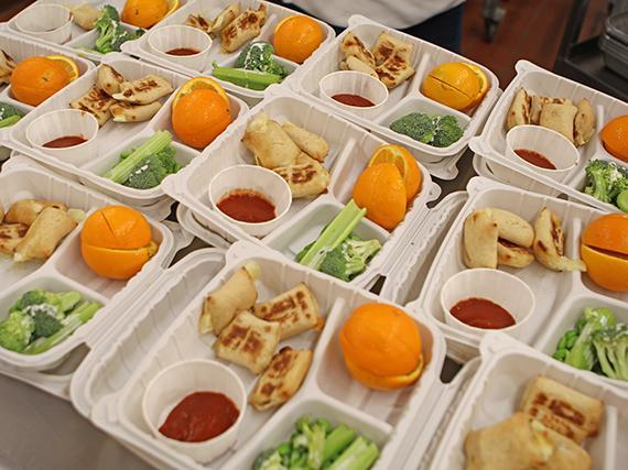Grab-and-Go Meals to Continue At Certain Sites Featured Photo