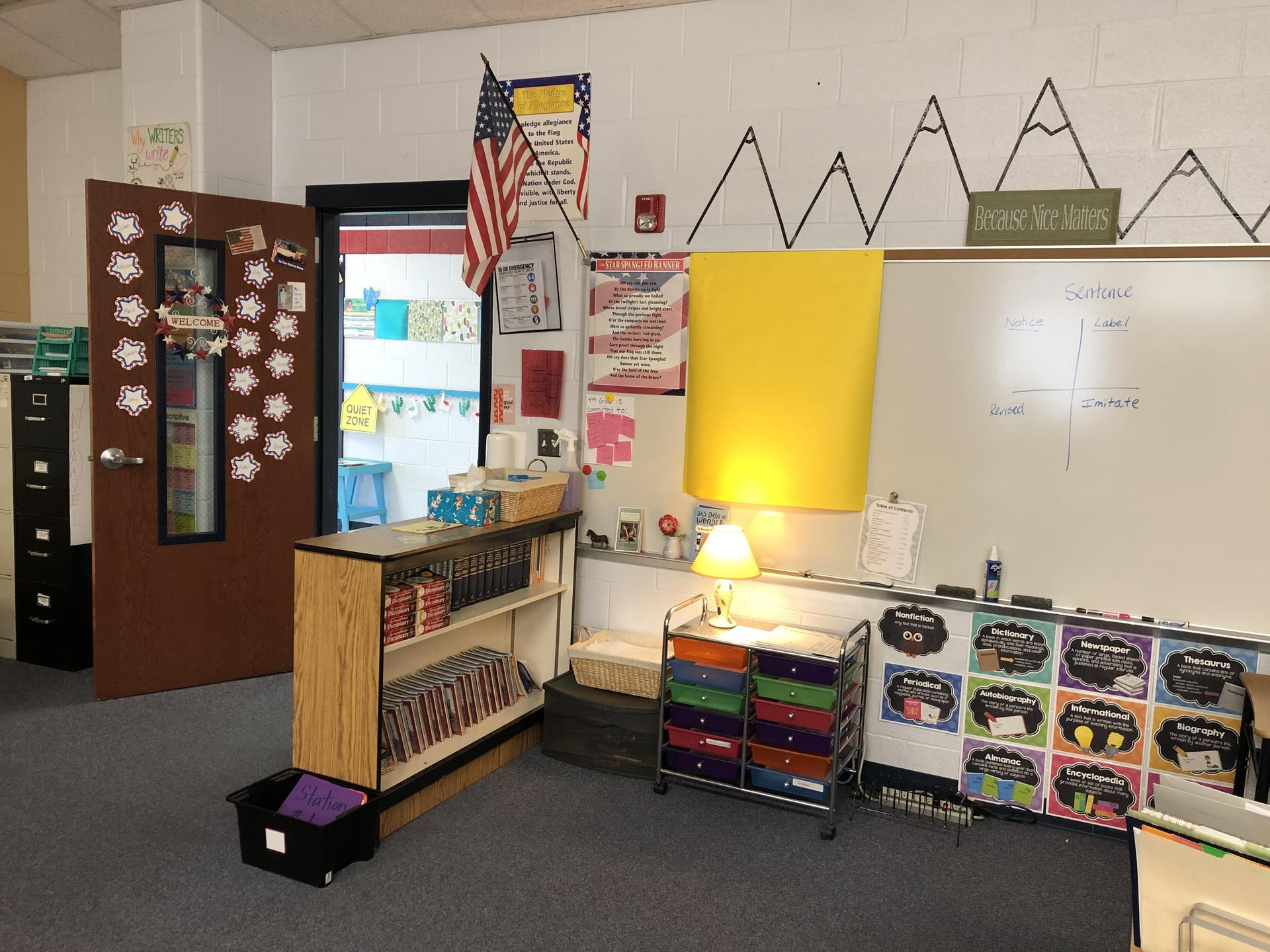 I can't wait to fill up this classroom with our learning!