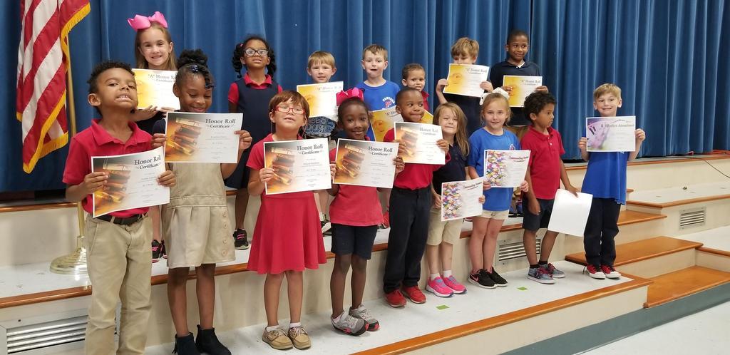 4th Term - Kindergarten Awards