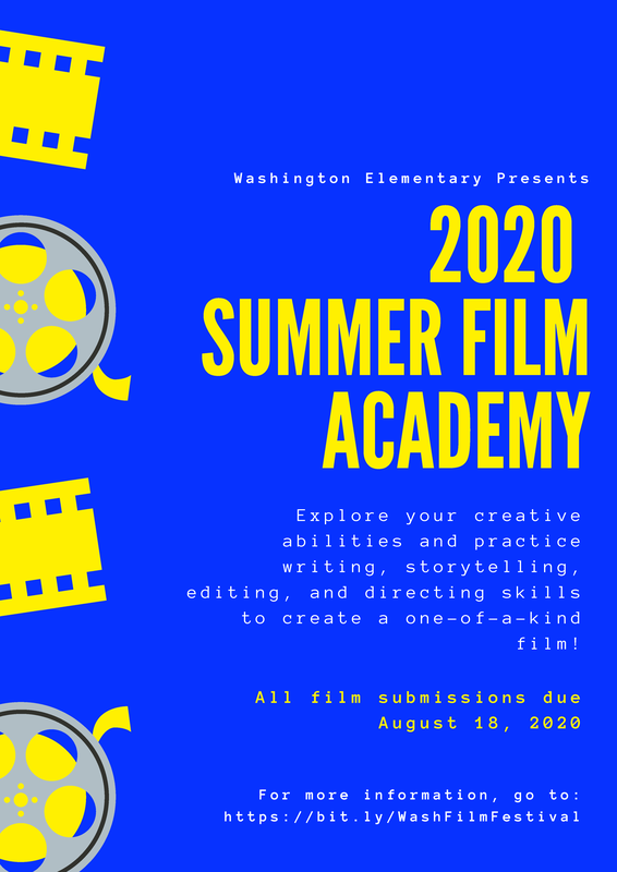 2020 Washington Summer Film Academy Featured Photo