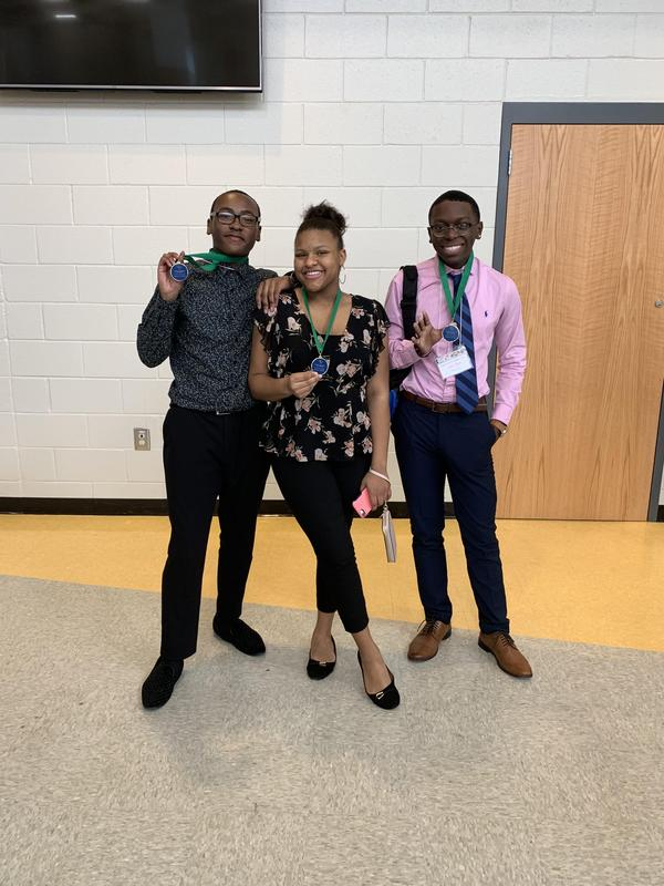 Curtis Martin, Ariyona Boyles, Sheldon Johnson- 5th Place Graphic Design