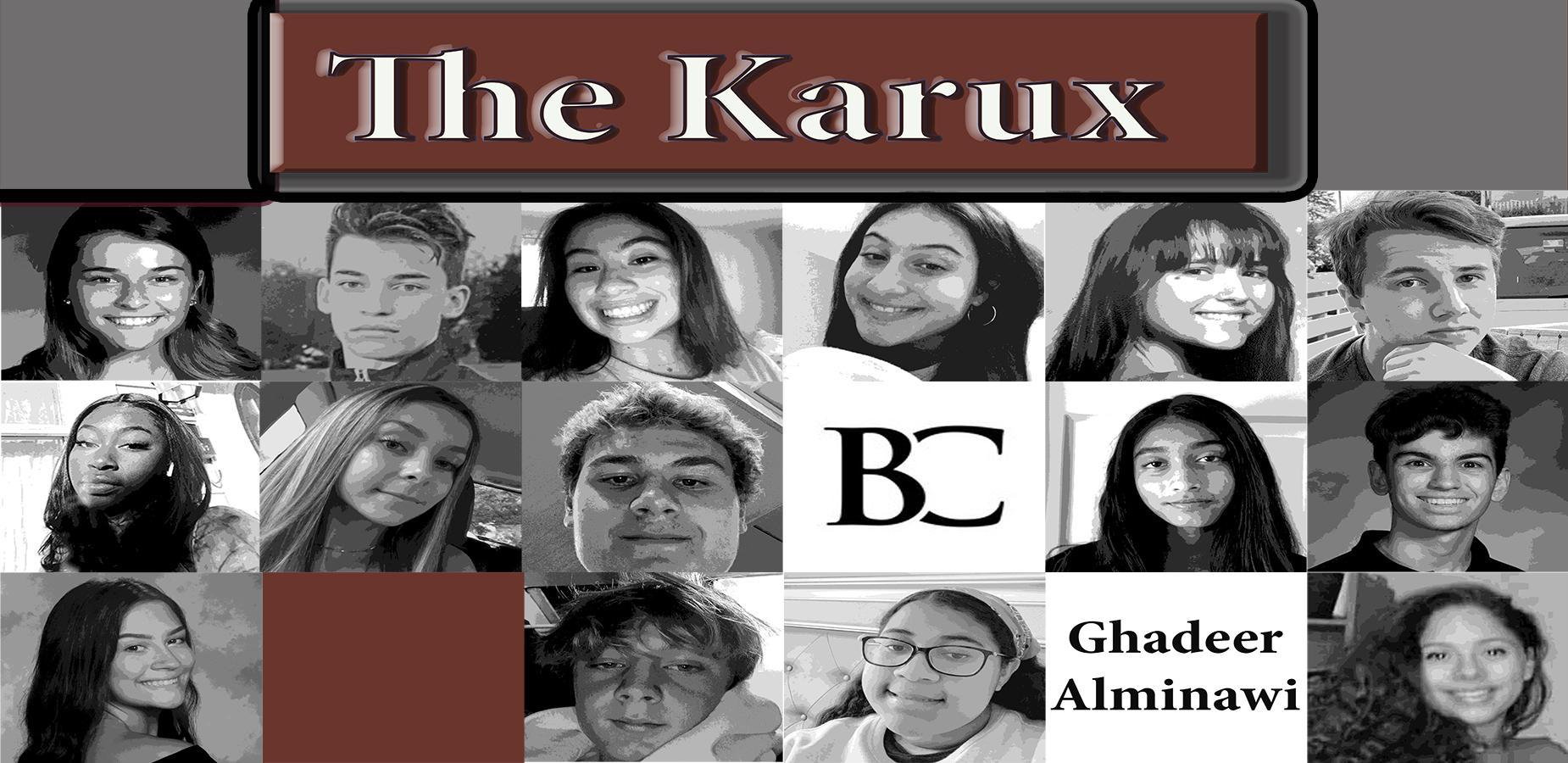 The staff of the Karux Newspaper
