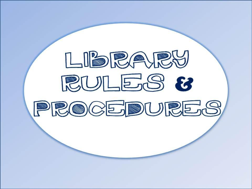 Library Rules and Procedures Image