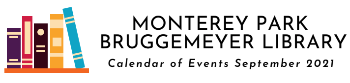 Monterey Park Bruggemeyer Library Events Featured Photo