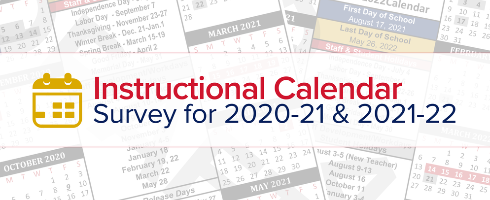 Instructional Calendar Survey