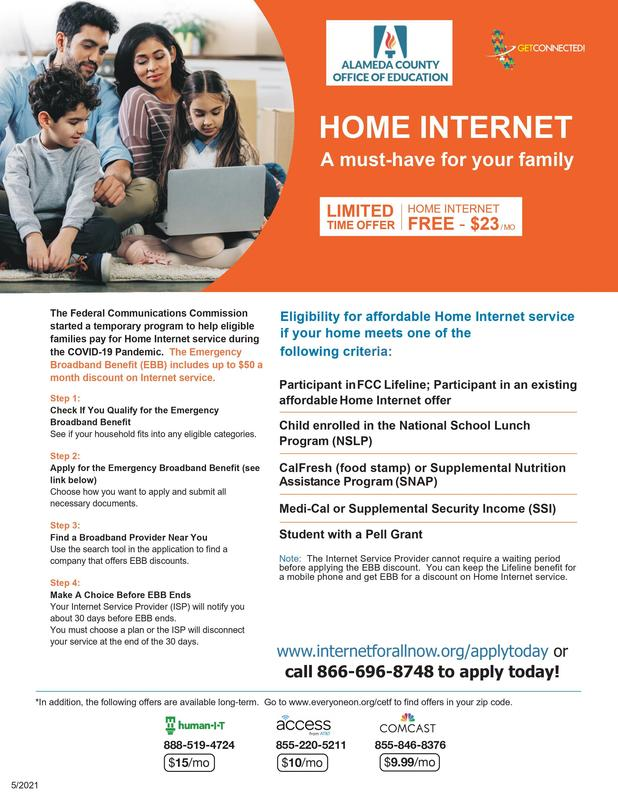 Closing the Digital Divide - Internet Access Flyer Featured Photo