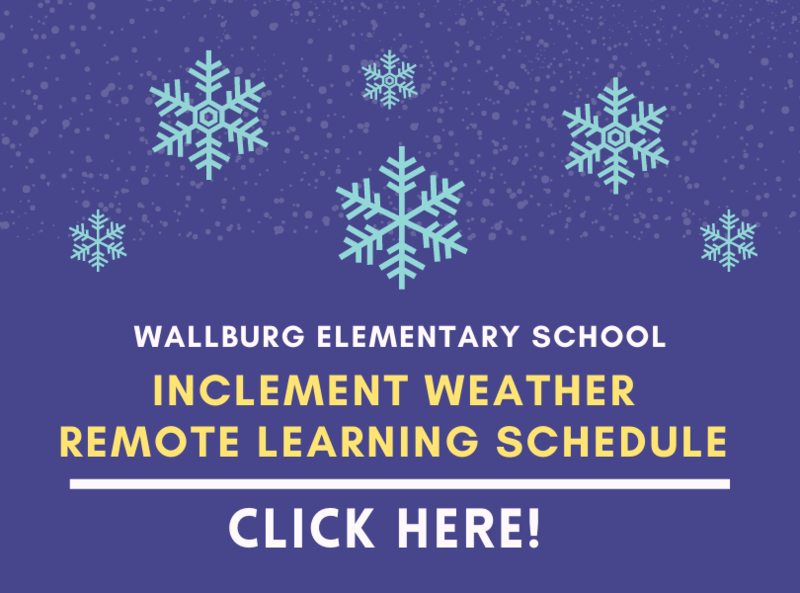 Inclement Weather Remote Learning Schedule