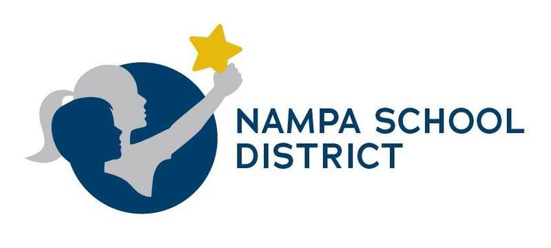 Nampa School District color logo
