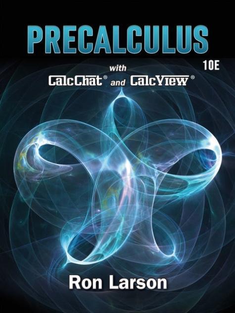 Precalculus book cover