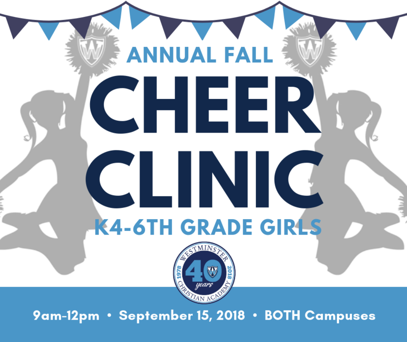 Annual Fall Cheer Clinic Thumbnail Image