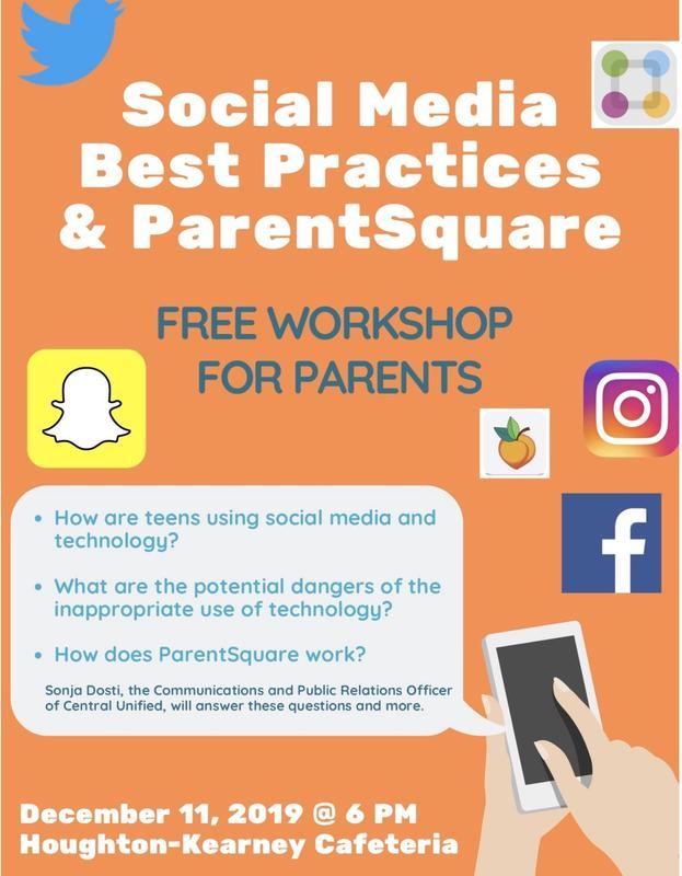 Pic of Flyer for Social Media Training