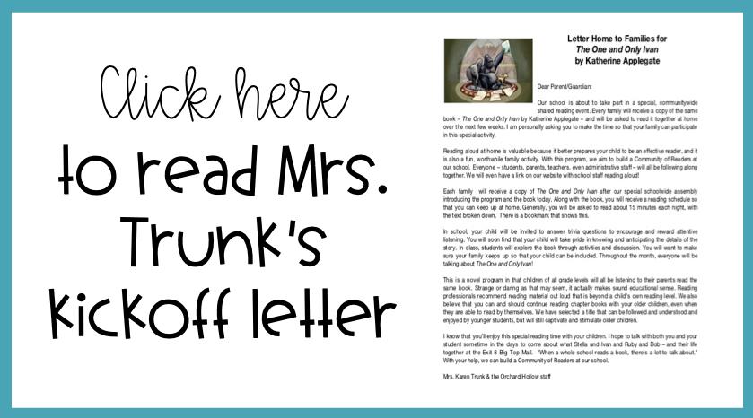 kickoff letter