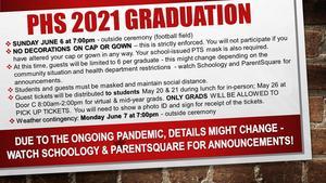 2021 graduation info