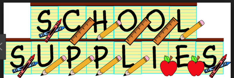 School Supply Lists 2019-20 Thumbnail Image