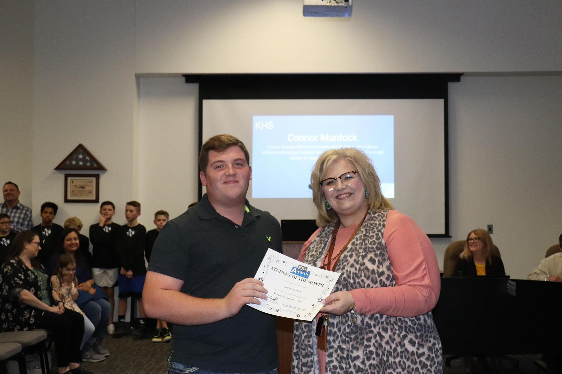 connor murdock and mrs p