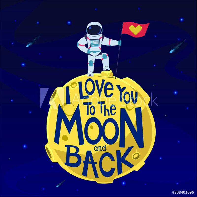 Astro to Moon and Back