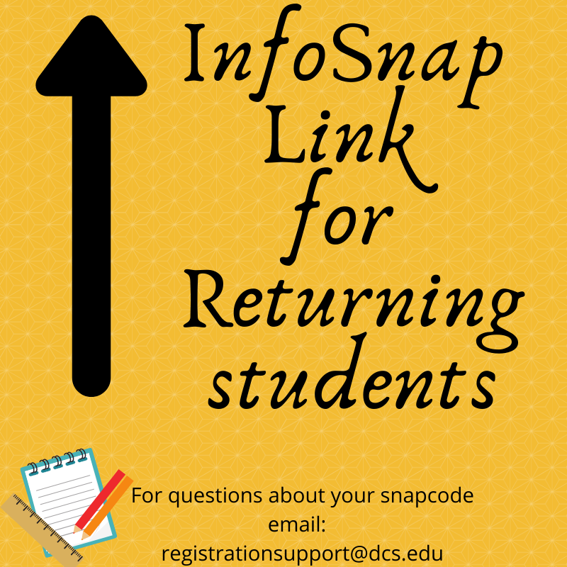 2020-21 InfoSnap registration Featured Photo