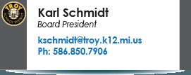Karl Schmidt, Board President