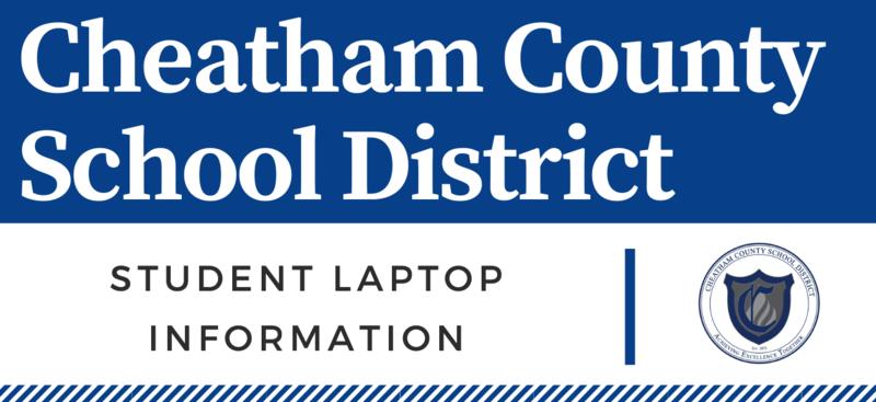 Student laptop information