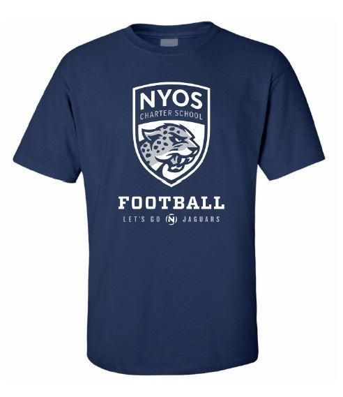NYOS Jaguars Football T-Shirt Fundraiser Featured Photo