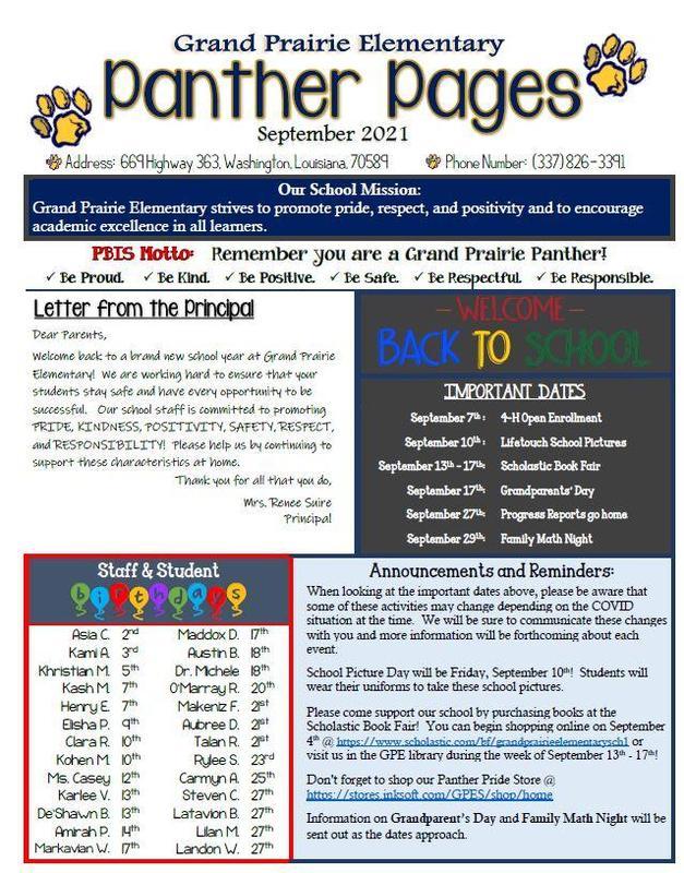 September 2021 Community Newsletter Featured Photo