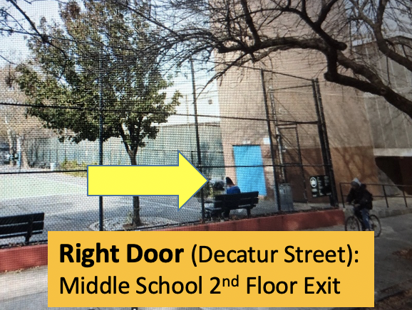 Schaefer Street 2nd Floor Exit