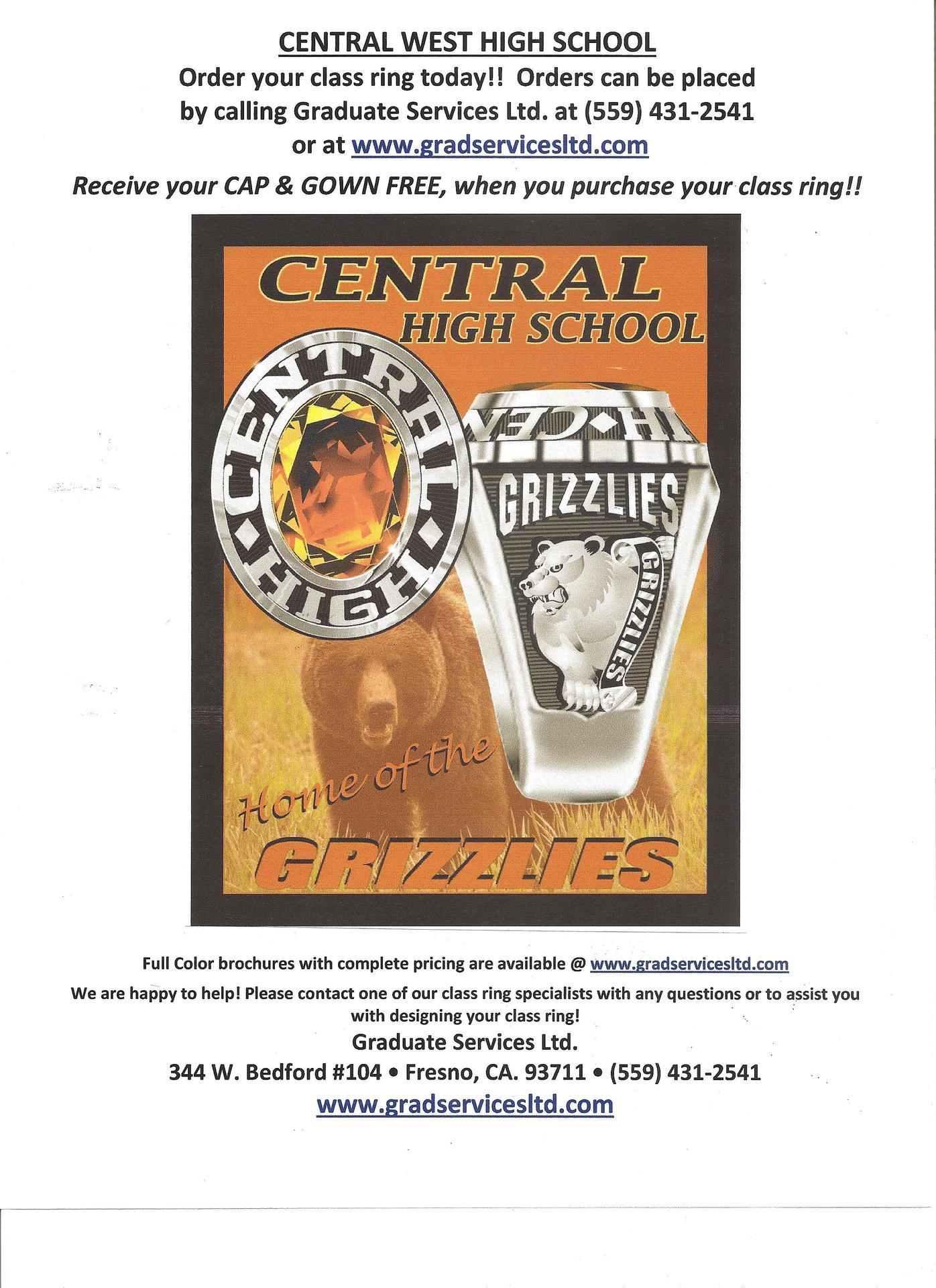 Class Ring Flyer