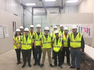 Our engineering class had a great time touring the FC Cincinnati facility!