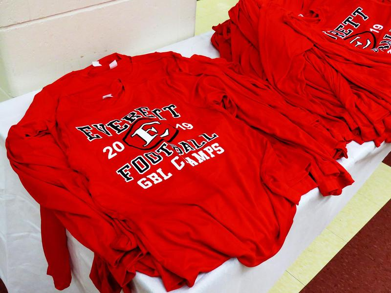 GBL championship shirts featuring the
